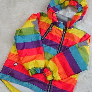 Other - RAINBOW Rain Jacket, New without tags